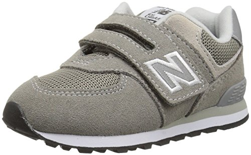 New Balance Schuhe Infant (New Balance Unisex-Kinder Iv574v1 Sneaker, Grau (Grey), 17 EU)