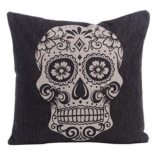 aihometm Lino Throw Pillow divano federe per cuscino interno, con