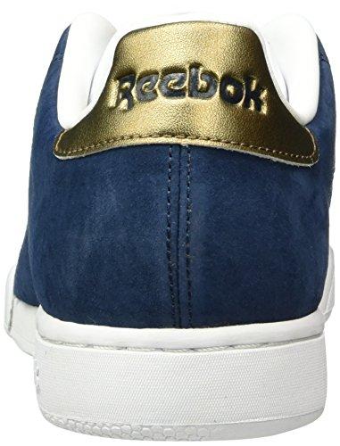 Reebok Herren Npc Ii Metallics Sneakers Blau (Collegiate Navy/Antique Copper)