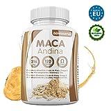 Maca nera andina con Omega 3, L-Arginina Alfa-chetoglutarato, Vitamine e Zinco. Solo Maca con Omega 3 nel mercato. NOVONATUR. (120)
