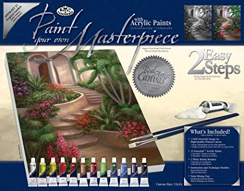 Royal & Langnickel POM-SET11 Peindre sa Propre oeuvre d'art Jardin tropical