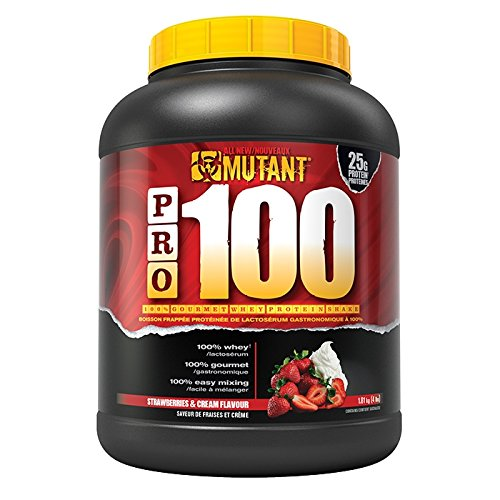 Mutant – Pro-100 ( 4lbs – 1800g ) – Strawberries & Cream