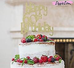 Idea Regalo - Decorazione per torta con scritta