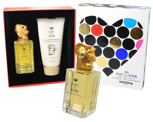 Sisley Eau du Soir Geschenkset für Sie (Eau de Parfum 100 ml + Body Cream 150 ml) - Eau Soir Parfum