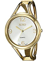 XOXO Women's XO1096 Gold-Tone Bangle Watch