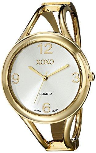 XOXO Women's XO1096 Gold-Tone Bangle Watch