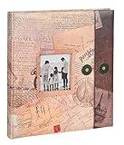 Ideal Holiday Fotoalbum in 29x32 cm 60 Seiten Urlaubsalbum mit Ausschnitt Foto Album: Farbe: Braun