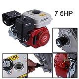 Luckywing 7.5HP Benzinmotor Starter Benzin Motor Single Zylinder Luftgekühlte 4-Takt Motor Zubehör