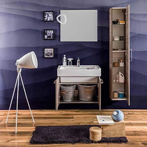 Dafnedesign.com - mobile da bagno effetto legno (cm. l75 x p40 x h62)