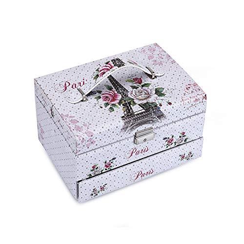 TYX -ZXF Große mehrschichtige Kosmetiktasche Große Kapazität Tattoo Toolbox Compartment Beauty Box Tragbarer Kosmetikkoffer,A