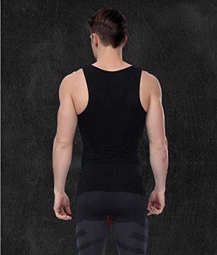 Dimagrante del corpo dello shaper della pancia Buster vita Shapewear compressione Vest Blu