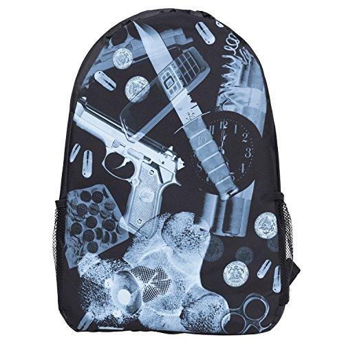 Funny Backpacks Company© Stampa 3D FRONT Zaino Stampare/Motivo /Design Taglia Unica Unisex Primavera Estate 2017 (X-RAY 39993)