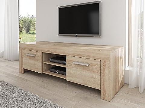 TV Unit Cabinet Stand Rome Light oak (Sonoma) 160 cm