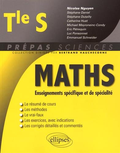 Maths Enseignements Spcifique et de Spcialit Tle S