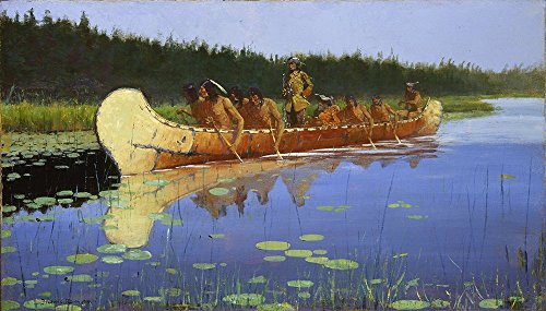 frederic-remington-radisson-and-groseilliers-extra-large-matte-print