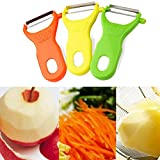 TAOtTAO 3pcs Kartoffelschäler Obst Gemüse Spud Speed Slicer Cutter