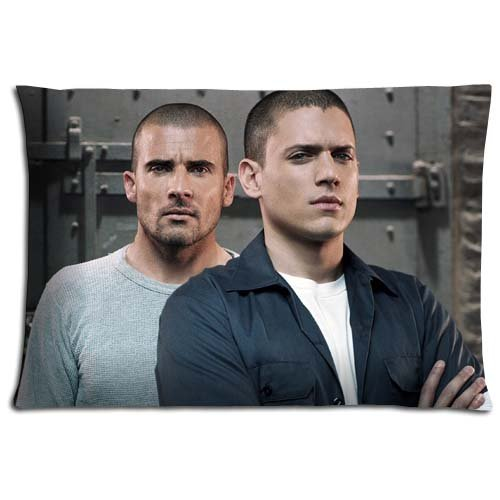 Click for larger image of 16x24 inch 40x60 cm cushion pillow covers case Polyester Cotton Finest MACHINE WASHABLE Prison Break