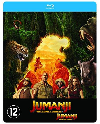 Jumanji : Bienvenue Dans la Jungle - Edition Steelbook [Blu Ray] [Blu-ray]