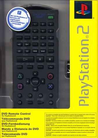 Playstation 2 - DVD Fernbedienung Original (schwarz) - Ps2 Dvd Remote