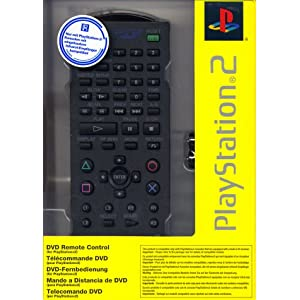 Playstation 2 – DVD Fernbedienung Original (schwarz)