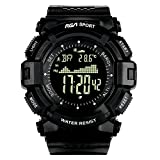 Best Black Mountain Exercise Watches - Men's Digital Sports Watch, 50m Waterproof Multifunctional Outdoor Review