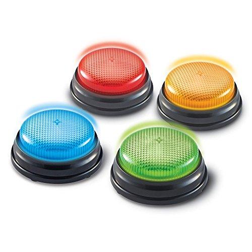 Antwort Buzzer Spiel, Buzzer mit Licht & Sound, Quiz Spiel thumbnail