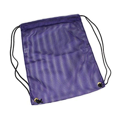 Sgt. Knoten Mesh Tasche made in USA (verschiedene Farben & Größen), violett