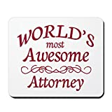 Best CafePress Attorneys - CafePress - Awesome Attorney - Non-slip Rubber Mousepad Review