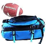 Football + Sporttasche | Wasserfest 50 Liter Tasche blau | Sport 29 cm Ball ~ds5