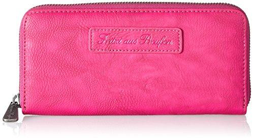 Fritzi aus Preussen Damen Nicole Geldbörse, Pink (Fuchsia) 167/Saddle, 19.5x9.5x2.5 cm