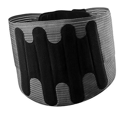 LOMBASKIN®–Zweite Haut Effekt Compact Lendenwirbelstütze Gürtel. Erhältlich in 5Größen. 21cm vorne Tiefe