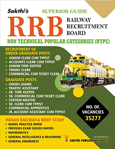 Rrb Non Technical Popular Categories (NTPC) Exam Book