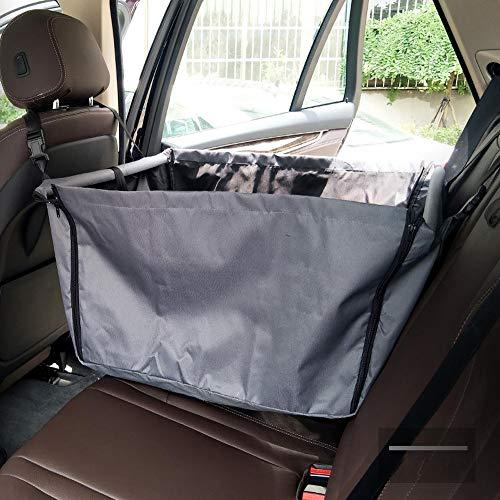 GX&XD Wasserdicht Hängematte Kofferraumschutz Hunde,Waschbar Gepolsterte Hundedecke Auto rückbank Zurück einzelsitz Rutschfeste Heavy-Duty Auto hängematte für Hunde-D (Heavy-duty-hund Hängematte)