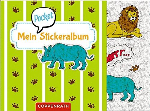 Mein Pocket-Stickeralbum: Wilde Tiere (Pocket-buch Mein)