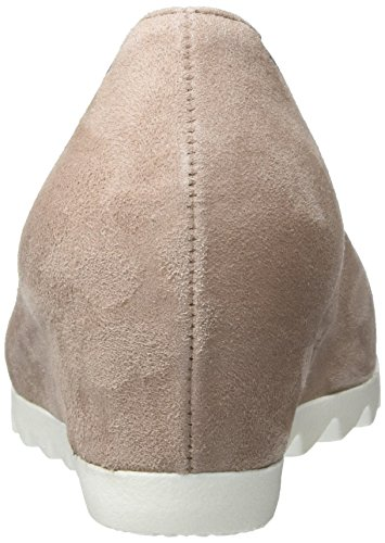 Gabor Fashion, Pompes à Plateforme Plate Femme Rose (antikrosa S.weiss 14)