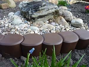 Rasenkante bordure in plastica per prati e aiuole for Bordure aiuole plastica