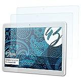 Bruni Schutzfolie für Acepad A140 Folie - 2 x glasklare Displayschutzfolie
