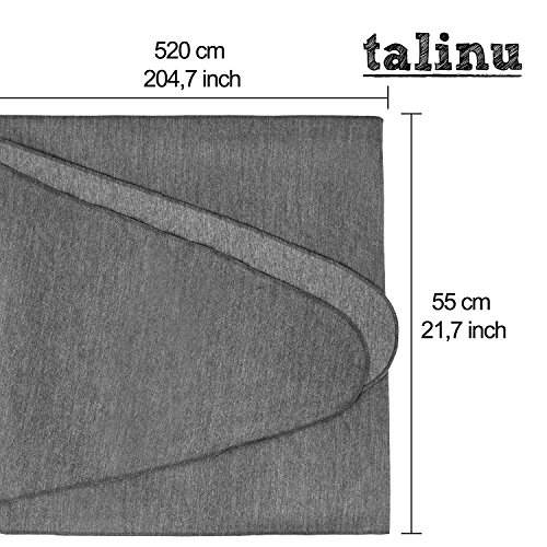 TALINU Babytragetuch – atmungsaktiv und elastisch – 520 x 55 cm - 3