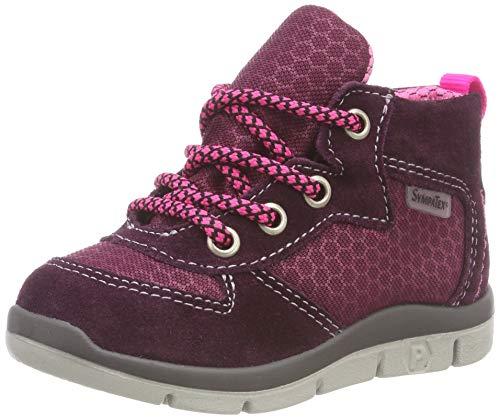 RICOSTA Jungen PEJO Hohe Sneaker, Rot (Merlot/Fuchsia 362), 22 EU