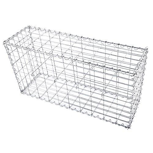 songmics-gabion-stone-wire-dia-4-mm-mesh-size-10-x-5-cm-galvanized-100-x-50-x-30-cm-ggb153