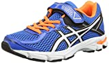 ASICS Gt-1000 4 PS, Unisex-Kinder Laufschuhe, Blau (Electric Blue/White/orange 3901), 32.5 EU (13 UK)