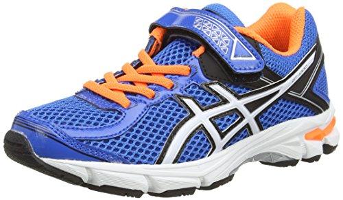 gt 1000 4 ASICS Gt-1000 4 PS, Unisex-Kinder Laufschuhe, Blau (Electric Blue/White/orange 3901), 32.5 EU (13 UK)