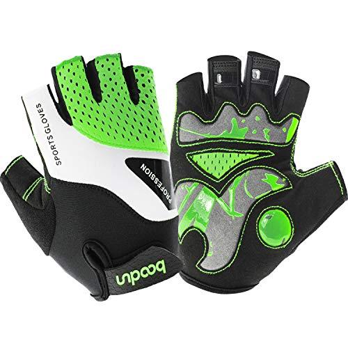 HASAGEI Handschuhe Herren Fahrradhandschuhe MTB Halbfinger Handschuhe Männer Damen für Radsport Mountainbike ()