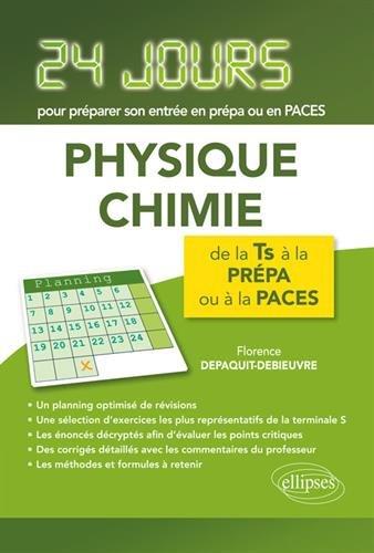 Physique-chimie - 24 jours pour préparer son entrée en prépa par Florence Depaquit-Debieuvre