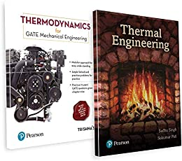 GATE Mechanical Engineering Preparation Combo: Thermodynamics for GATE & Thermal Engineering Textbook