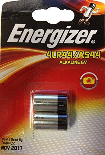 ENERGIZER Lot de 5 Blisters de 2 Pile Alcaline A544 / PX28 4LR44 6V