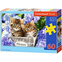 Castorland Cute Kittens 60 pcs 60pc(s) - Puzzles (Jigsaw puzzle, Fauna, Children, CAT, 5 year(s), Boy/Girl)