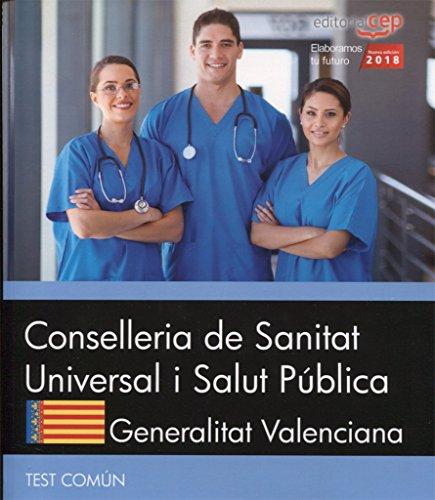 Conselleria de Sanitat Universal i Salut Pública. Generalitat Valenciana. Test Común por Editorial CEP