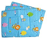 #2: Baby Station Premium Quality Multi Purpose Changeable Mat, Set of 3 (Blue Animal Print)