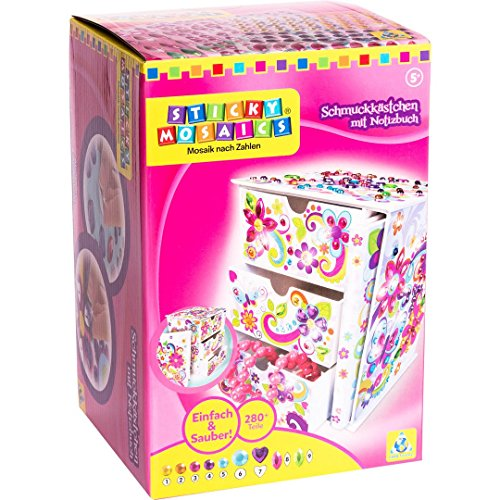 Sticky Mosaics Journal and Jewelry Box Craft Kit